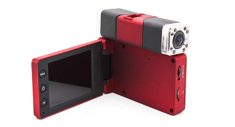 "2.7"" TFT 1080P HD Vehicle Car DVR Video Camcorder red"