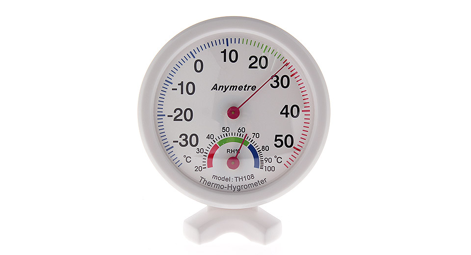 Product Image: anymeter-th108-battery-free-desk-thermo-hygrometer