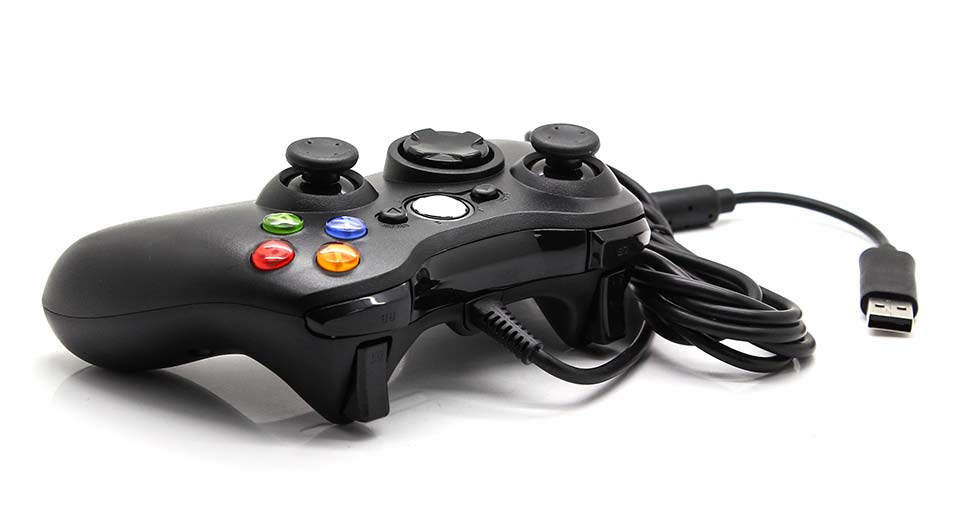 USB Wired Joystick Game Controller for Xbox 360 / Xbox 360 Slim
