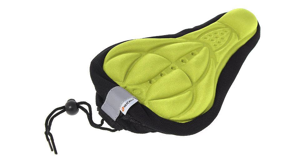 Soft COOLMAX 3D Bicycle Cushion Saddle Pad Seat Cover g