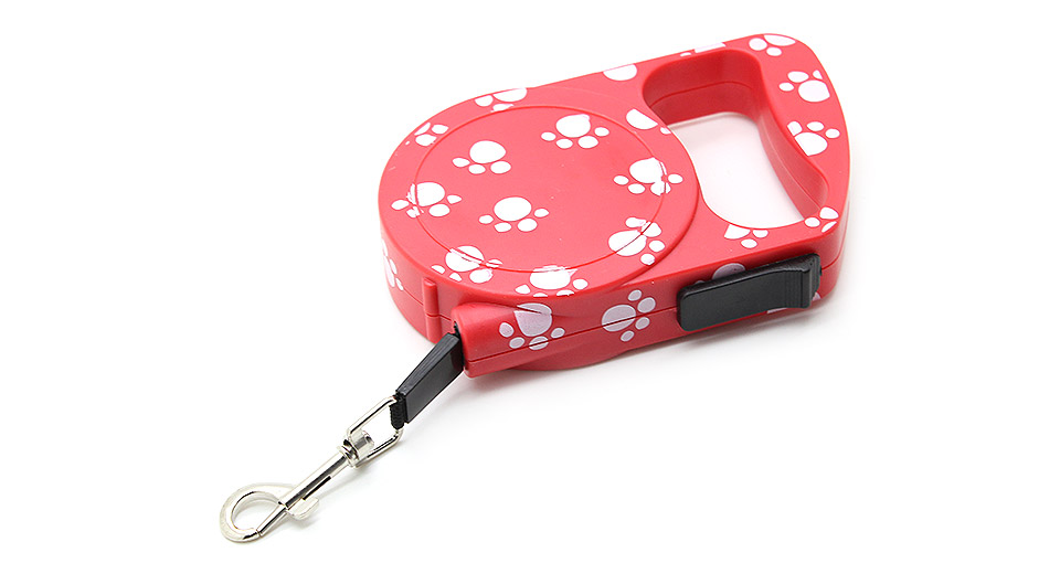 Product Image: footprint-pattern-automatic-retractable-pet-dog