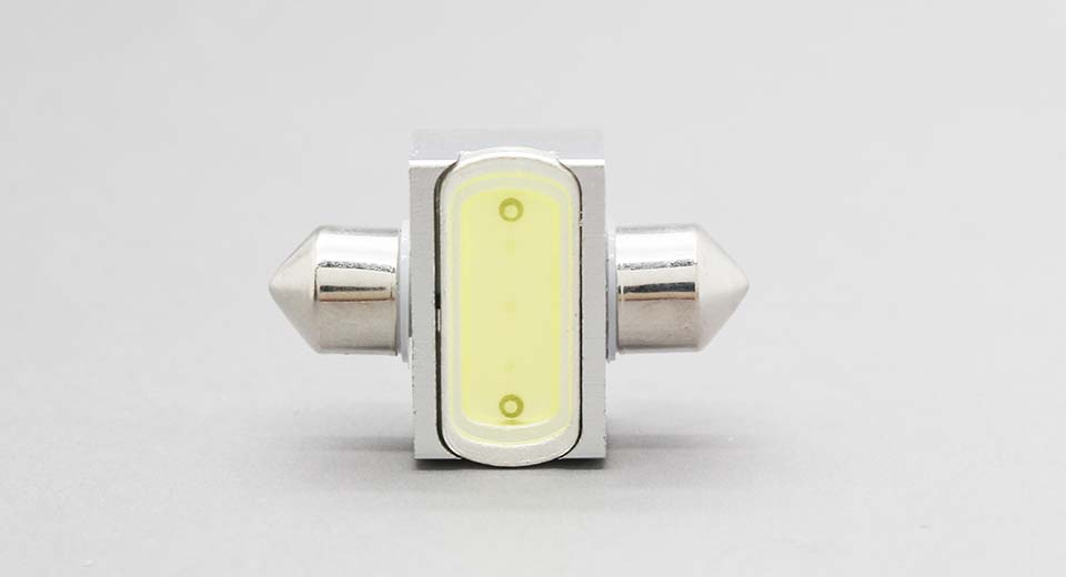 T10SV31 2W 1*LED COB 120LM 6000K Cool White Car Reading
