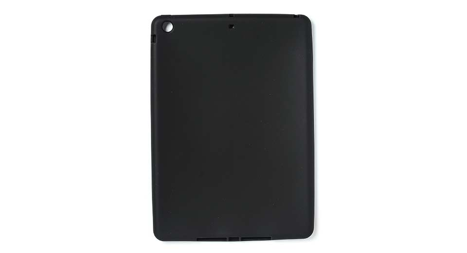 Protective Silicone Back Case for iPad Air black