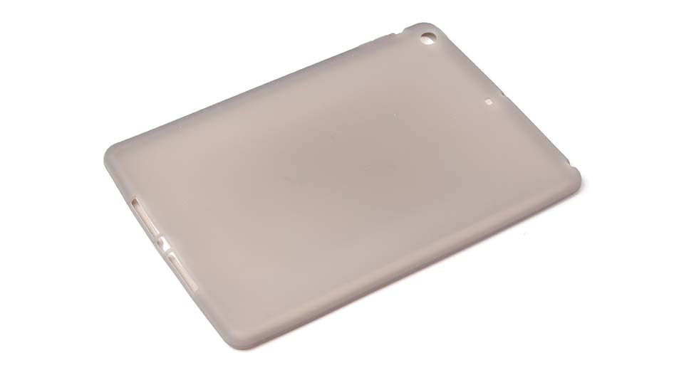 Protective Silicone Back Case for iPad Air grey