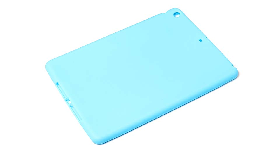 Protective Silicone Back Case for iPad Air blue