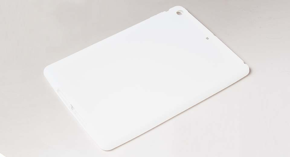 Protective Silicone Back Case for iPad Air white