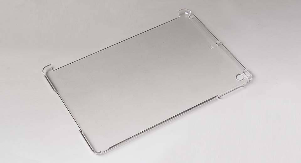 Protective PC Back Case for iPad Air translucent