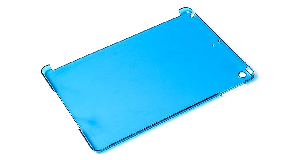 Protective PC Back Case for iPad Air blue