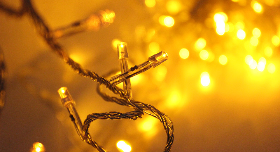 Decorative 100-LED String Fairy Lights for Wedding / Ch