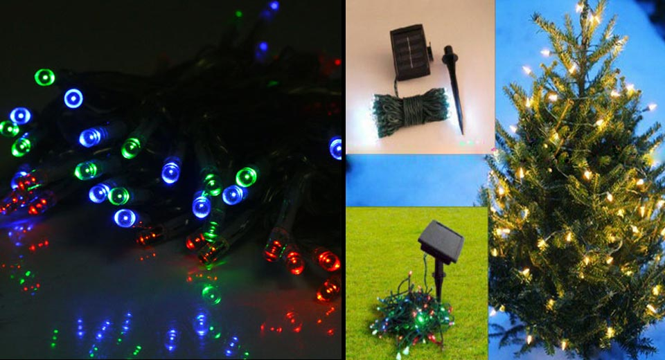 Product Image Solar 60 Led Garden String Fairy