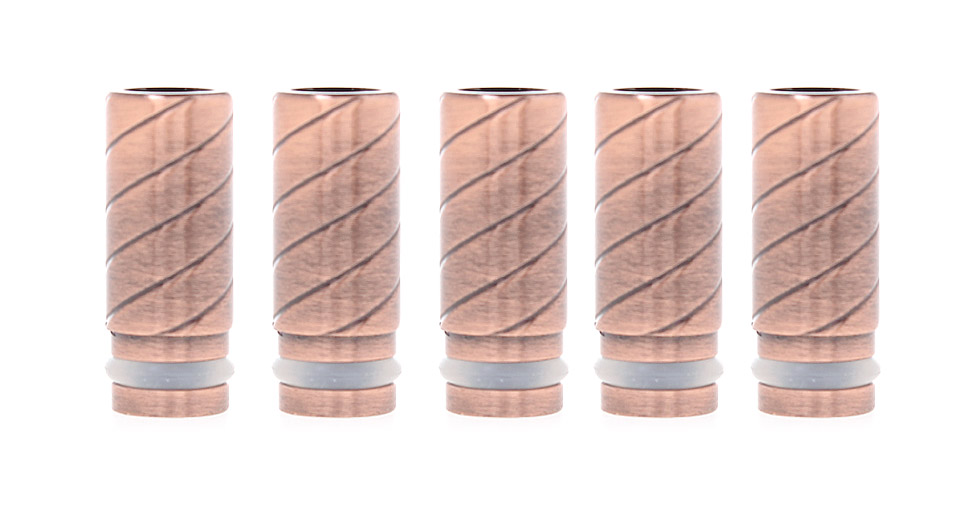 Product Image: stainless-steel-cylinder-510-drip-tips-5-pack