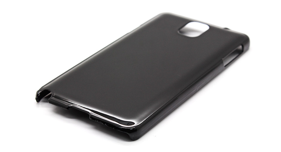 Protective PVC Back Case for Samsung Galaxy Note III bl