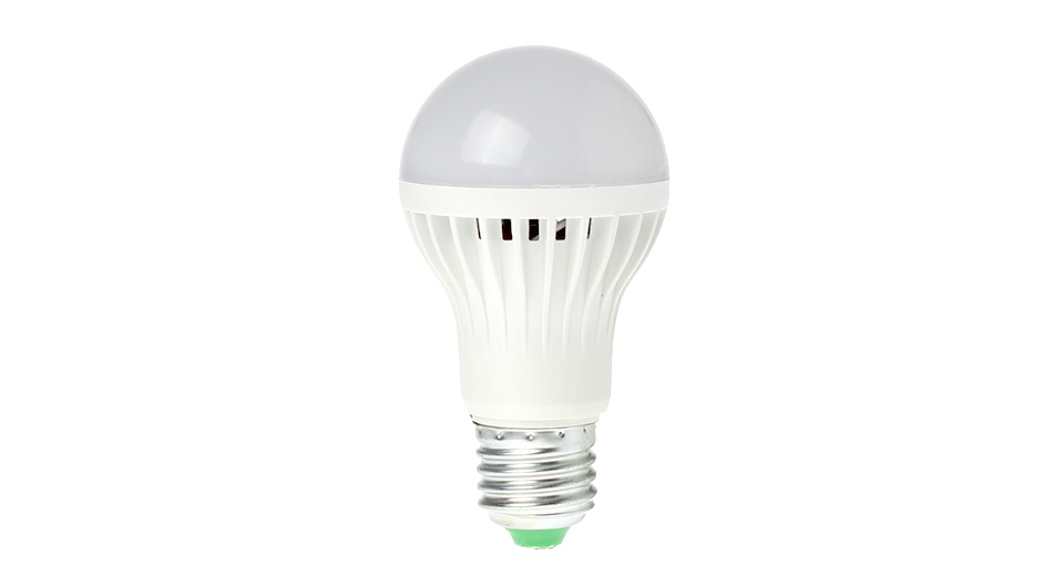 E27 5W 320LM 6000-6500K Pure White Energy Saving LED Li