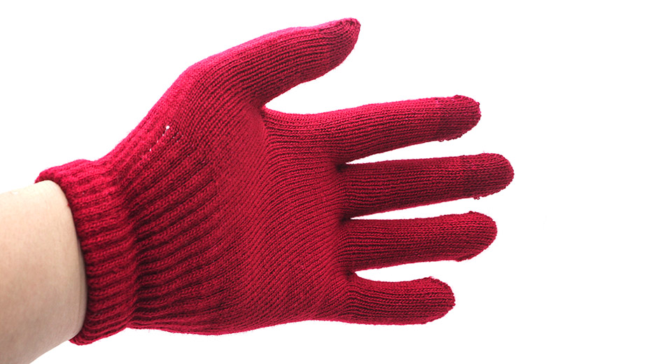 3-Finger Capacitive Screen Touching Hand Warmer Gloves