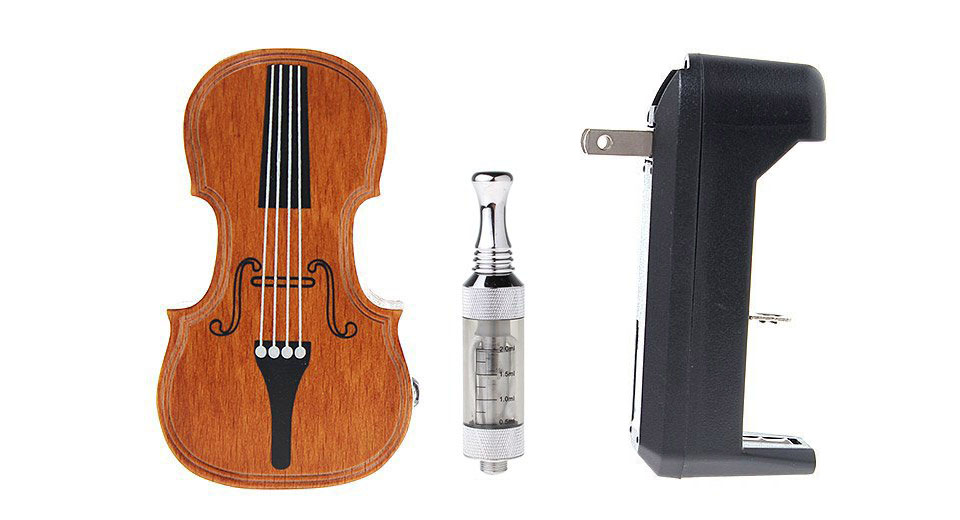 Product Image: v10-violin-style-wooden-mod-starter-kit-w-mini
