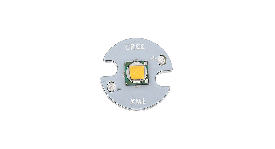 Authentic Cree XM-L T6-7C 900LM 2700-3000K Warm White LED Emitter