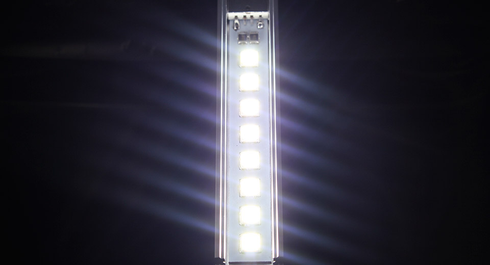 1.2W USB Powered 8*5152 180LM 5800K Neutral White LED L