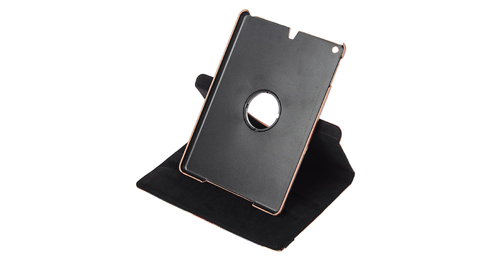360 Degree Rotatable Protective PU + PC Case for iPad A