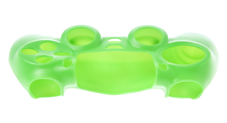 Protective Silicone Case for PS4 Controller green