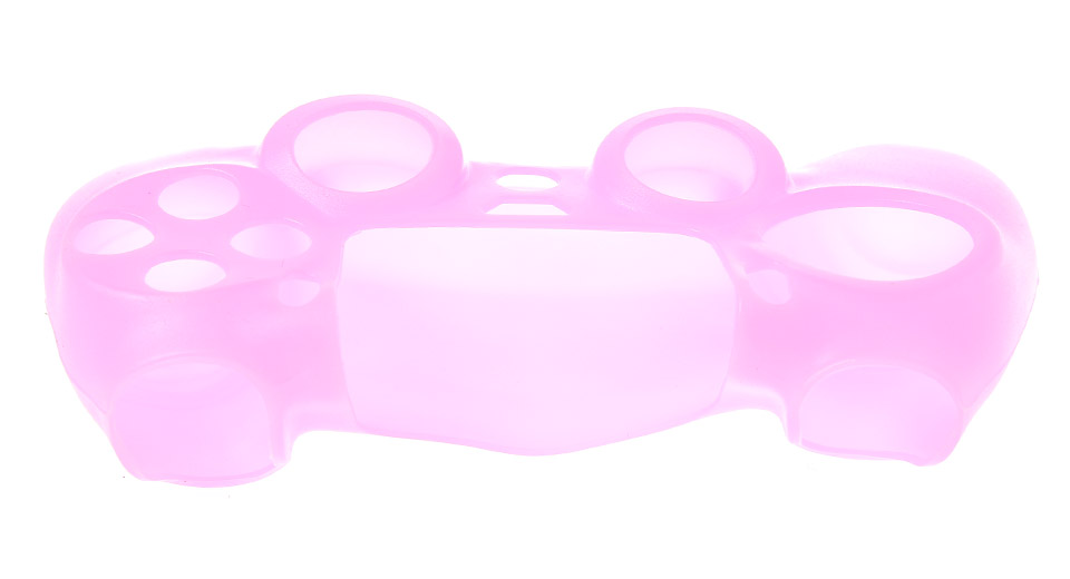 Protective Silicone Case for PS4 Controller pink
