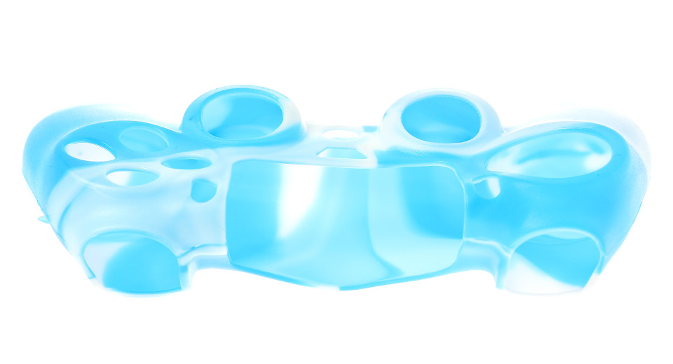 Protective Silicone Cover Case for PS4 Controller blue