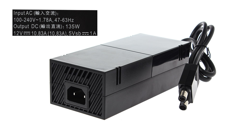 Power Supply Brick / AC Adapter for Xbox One Euro plug