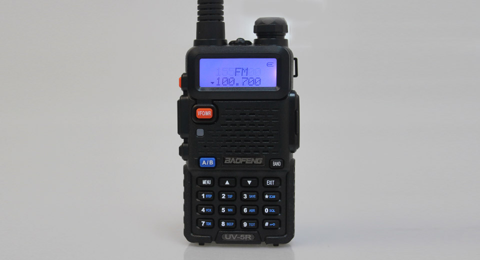 BaoFeng UV-5R 5W 136~174MHz / 400~520MHz Dual Band Two-