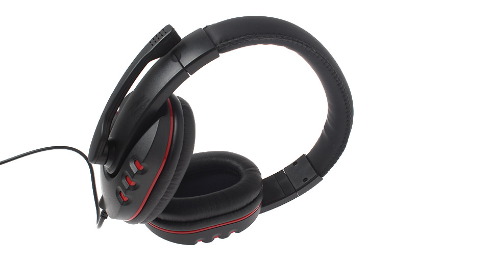 USB Stereo Wired Headset w/ Microphone for PS3 / PC