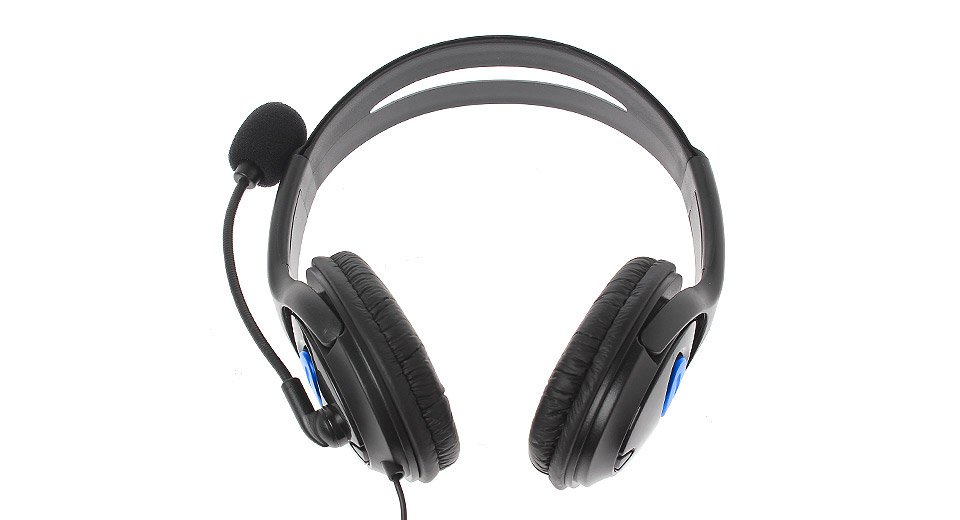 Gaming Chat Headset w/ Microphone for PS4 / PS3 / PC bl