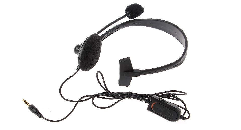 Solo Gaming Chat Headset w/ Microphone for PS4 black /