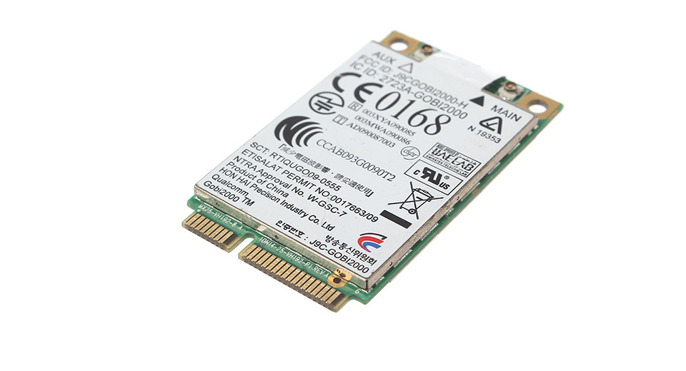 As-Is Qualcomm Gobi2000 HP UN2420 3G / HSPA WWAN Mini Card Module for HP/COMPAQ Laptops