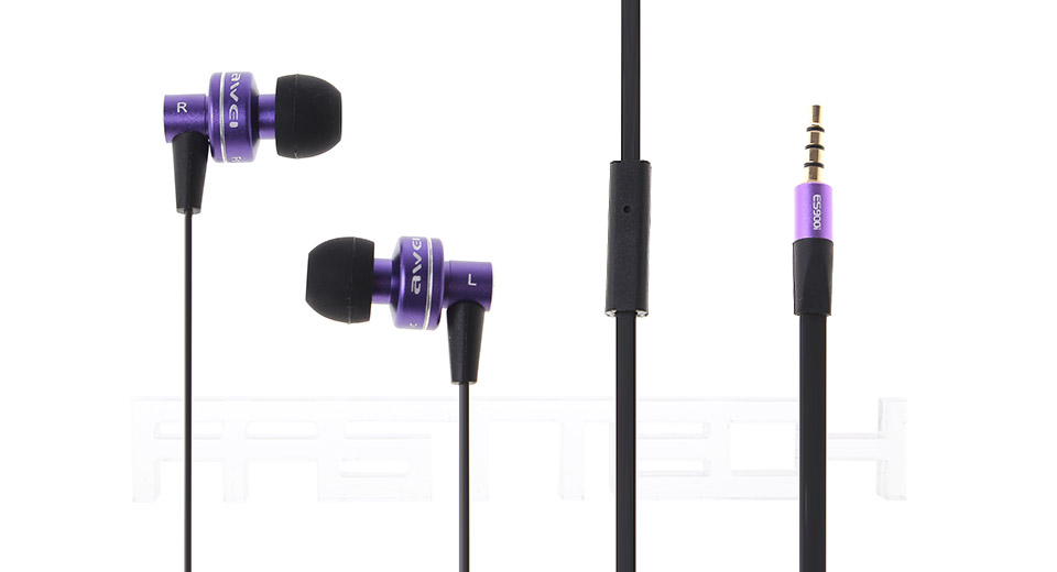 Authentic AWEI Ice Fountain ES-900i 3.5mm In-ear Earpho