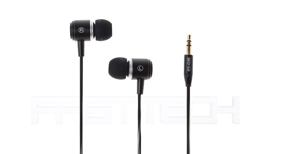 Authentic AWEI Rattlesnake ES-Q35 3.5mm In-ear Earphone