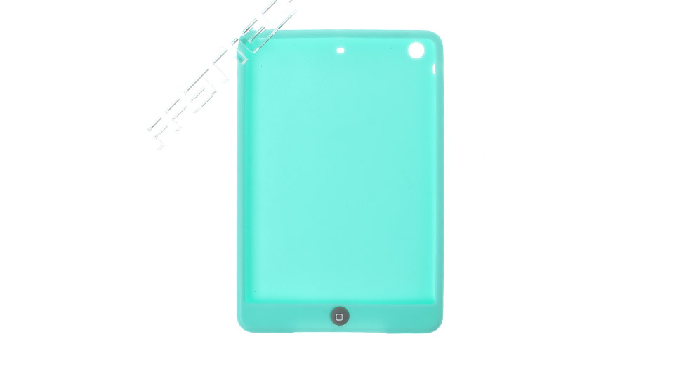Protective Silicone Back Case for iPad Mini blue