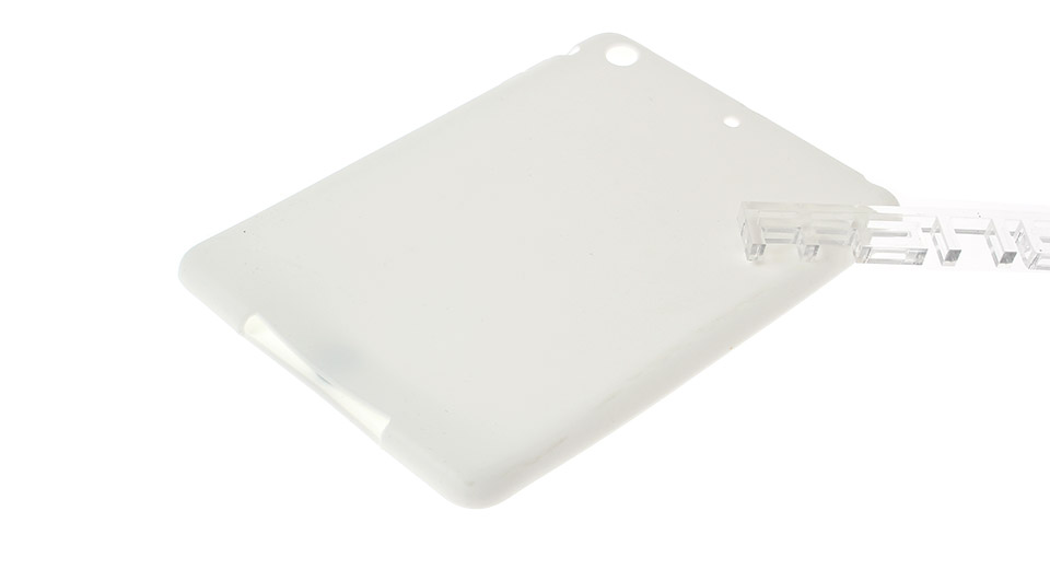 Protective Silicone Back Case for iPad Mini white