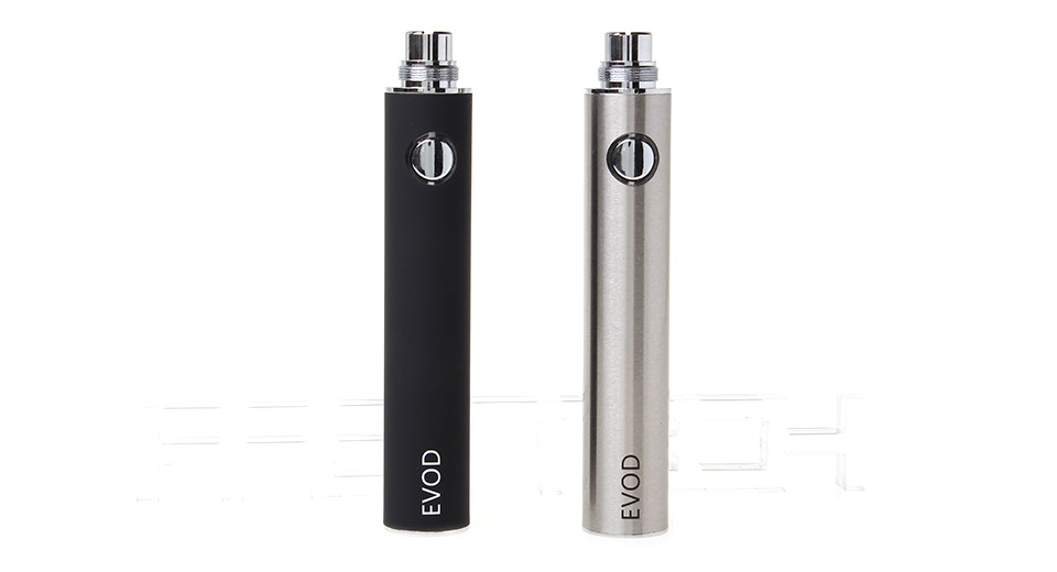 EVOD 1300mAh Rechargeable Batteries (2-Pack) ships with
