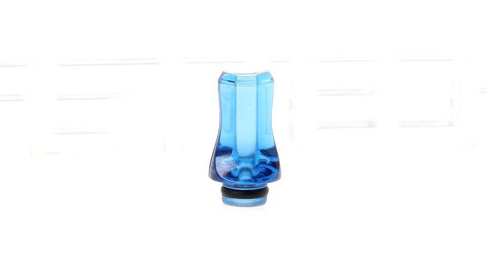 Acrylic Flat Mouth 510 Drip Tip
