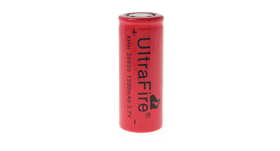 Product Image: ultrafire-xhh-26650-3-7v-7200mah-rechargeable-li