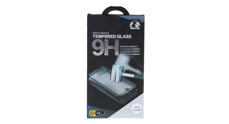 Product Image: 2-5d-tempered-glass-screen-protector-for-iphone-4