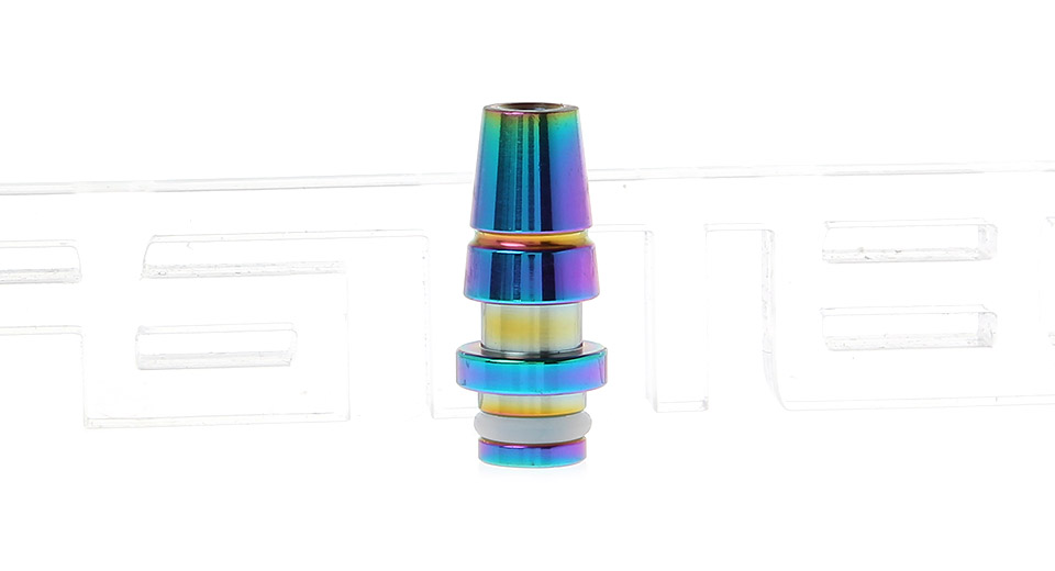 Product Image: rainbow-stainless-steel-510-drip-tip