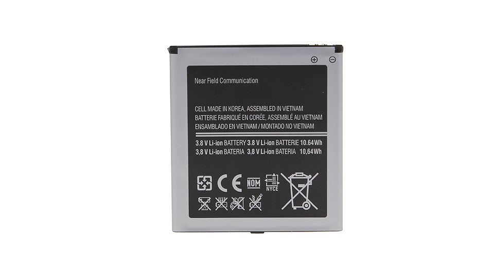 Replacement 3.8V 2800mAh Li-Ion Battery for W5000 Smartphone