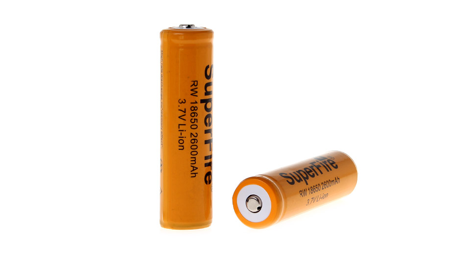 Product Image: superfire-rw18650-3-7v-2600mah-rechargeable-li