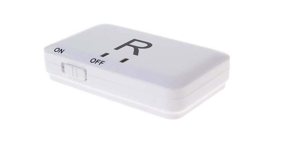 3.5mm Bluetooth V2.1 Audio Music Transmitter white / ma