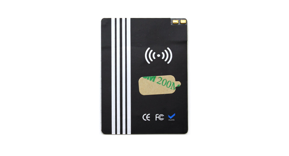 qi inductive wireless charging receiver patch for samsung galaxy s5 works w i9600 at. Black Bedroom Furniture Sets. Home Design Ideas