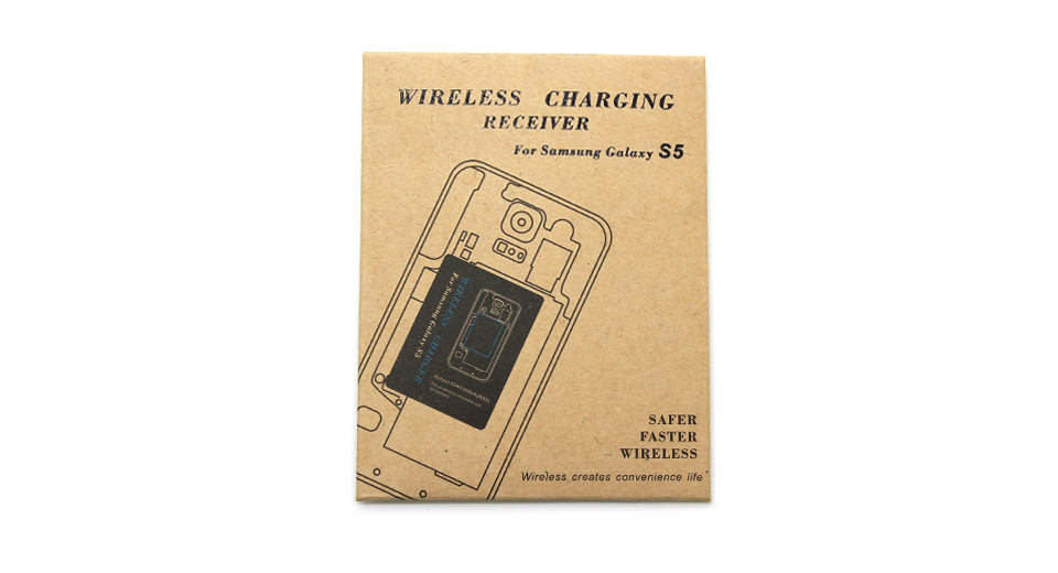1715800 Qi Inductive Wireless Charging Receiver Patch For