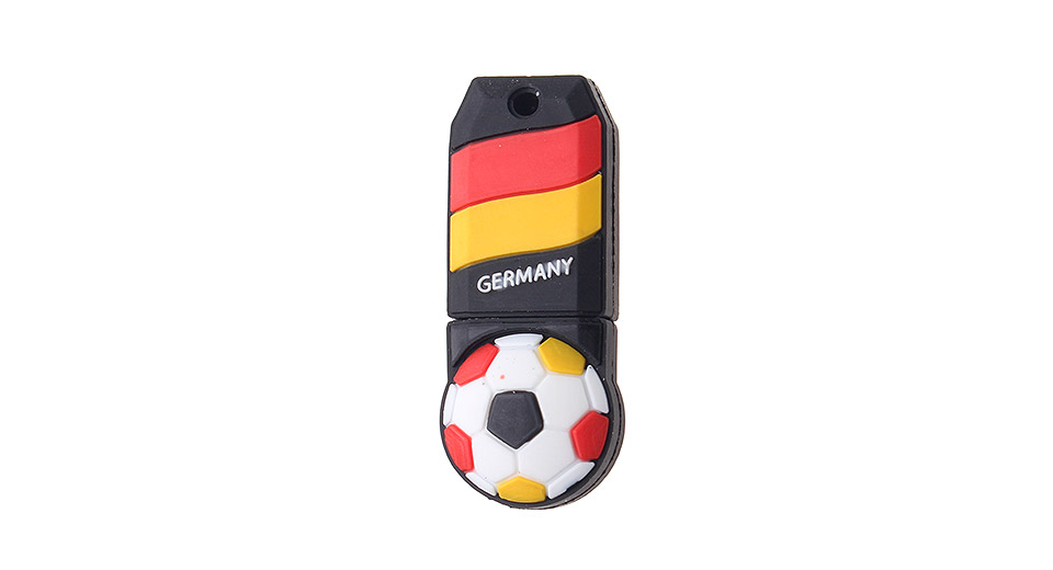 ZQT-5 64GB The World Cup of Germany Team Pattern USB 3.