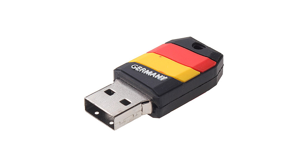 ZQT-5 16GB The World Cup of Germany Team Pattern USB 3.