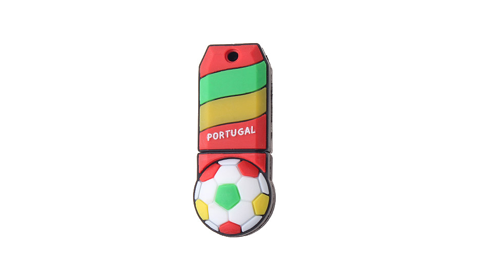 Product Image: zqt-8-8gb-the-world-cup-of-portugal-team-pattern