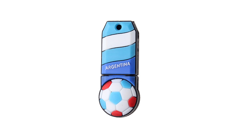 ZQT-2 2GB The World Cup of Argentina Team Pattern USB 2