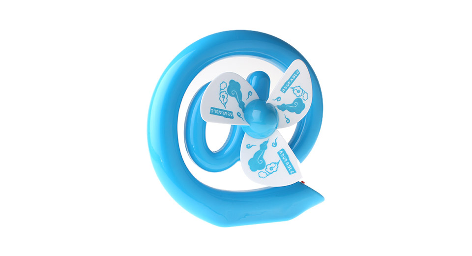 Creative @ Shaped Rechargeable Cooling Fan